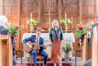 Church service, Cheshire