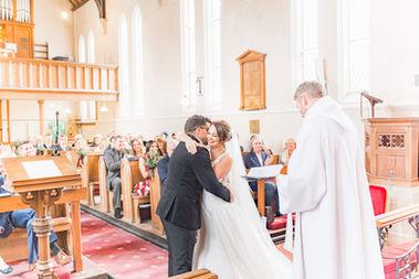 Cheshire church wedding