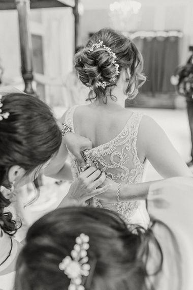 Bridal preperations