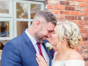 Sam & Russell // Larkspur Lodge, Cheshire Wedding