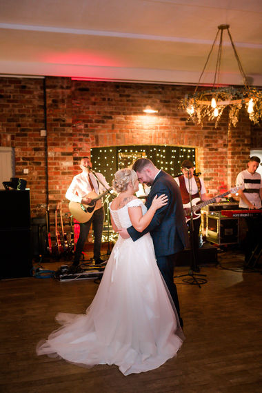First dance, Cheshire wedding