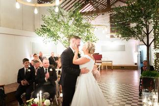 Bride and Groom Larkspur Lodge Wedding