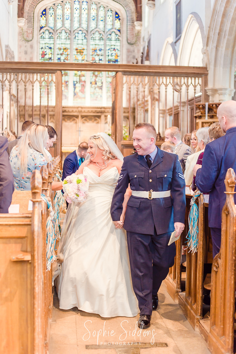 Oxfordshire church wedding