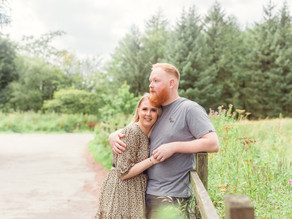 Charlotte and Josh - pre-wedding session at Macclesfield Forest, Cheshire