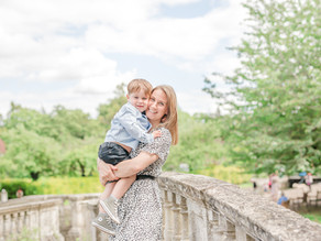 Mum and Son river walk Oxfordshire...