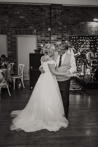 Father and daughter dance, Larkspur Lodge Cheshire