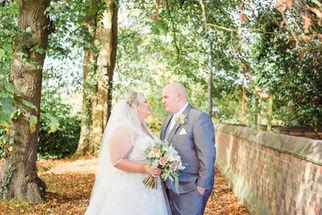 Bride and Groom outdoor portraits