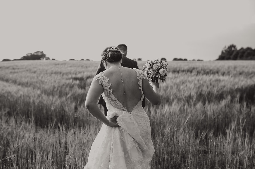 Sandhole Oak Barn Wedding Couple