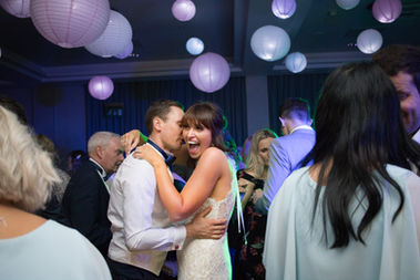 Bride and Groom first dance, Wrenbury Hall Cheshire