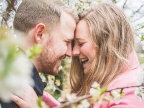 Katie & Dave, Nantwich Lake couples shoot.