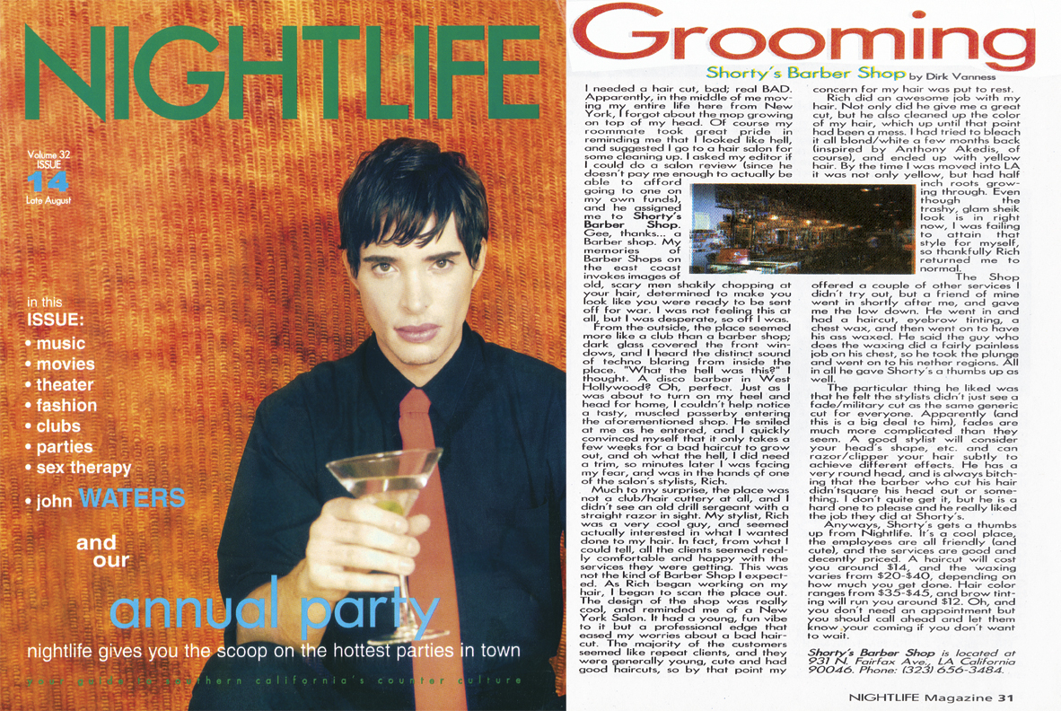 Nightlife Magazine Feature