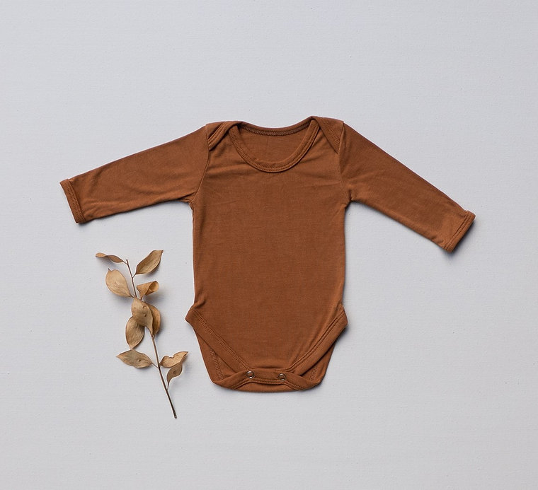 Organic plant dyed baby clothes