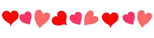 red-hearts-divider-header-footer-wedding