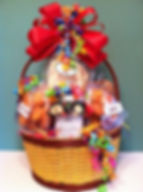 Gift basket with homebaked gooies frm Creative Call-Ins