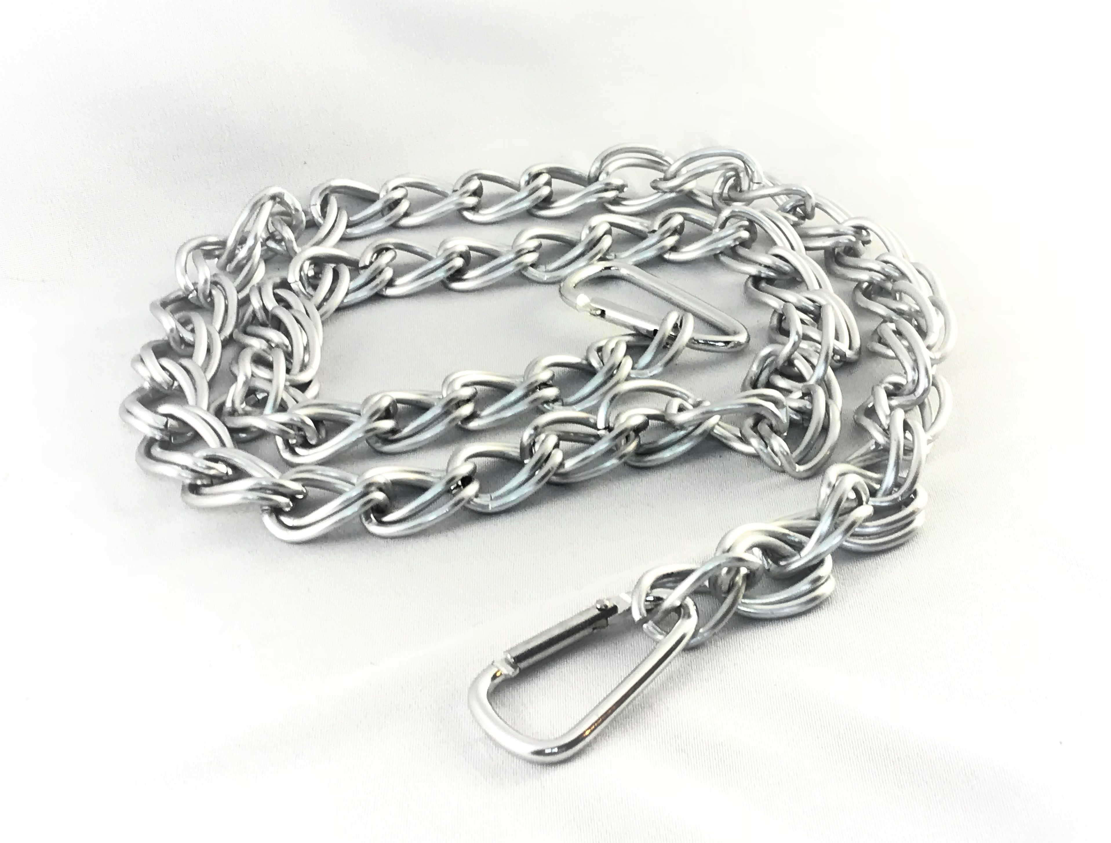 SILVER WITH CARABINER