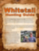 Whitetail Hunting Guide rear cover
