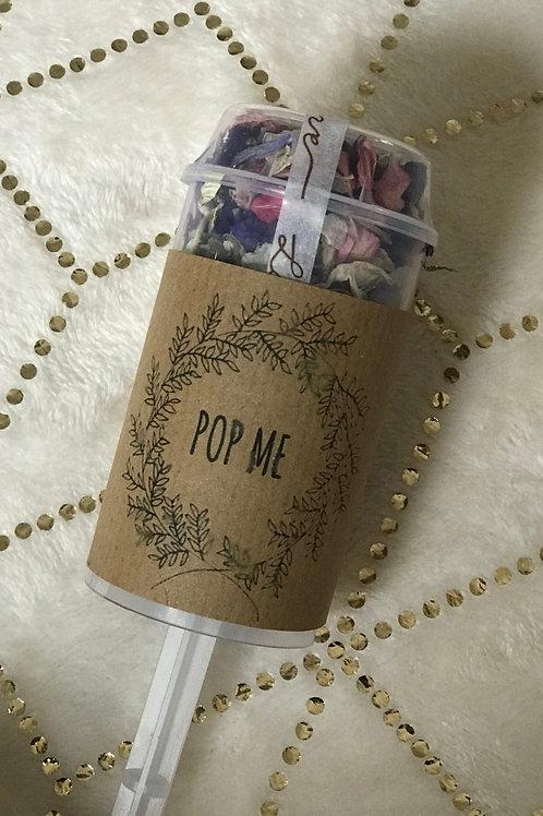 Personalised Confetti Pops - 20 Pops