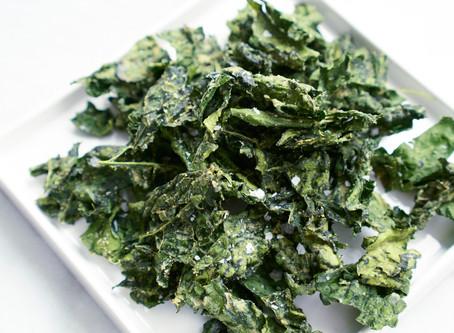 Honey Dijon Kale Chips