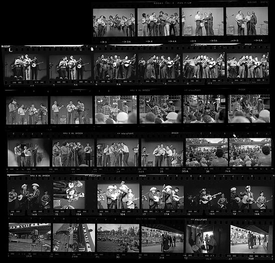 Contact-Sheet-from-1971-Bluegrass-Festival