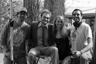 Filming with Chris Thile