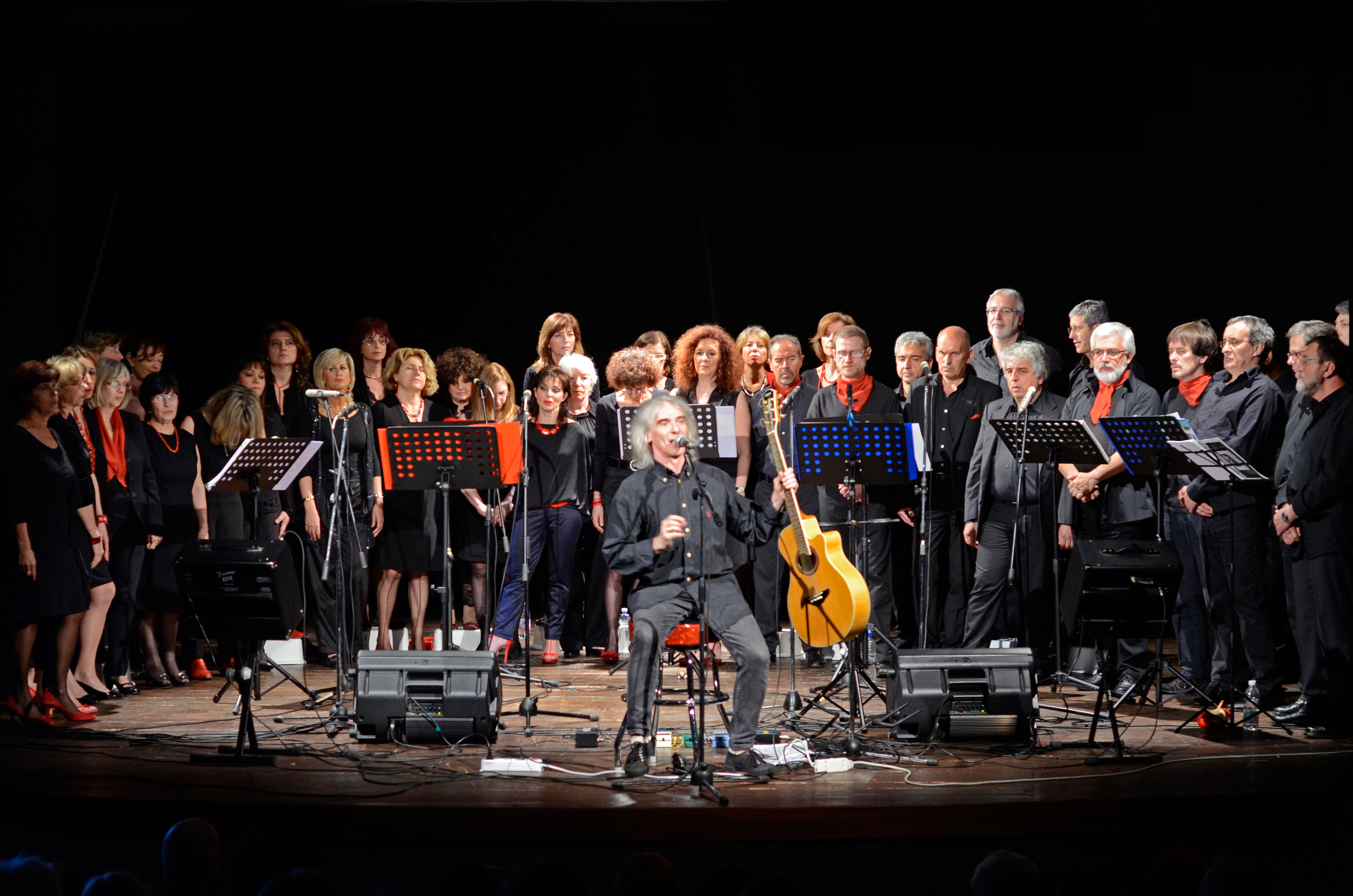 12 MAGGIO 2012 - TEATRO DEL LEVANTE - SORI (GE) - Canzoni della nostra storia -