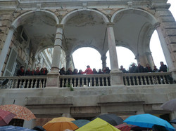12 MARZO 2011 - GENOVA DEI MILLE - CON ALLOISIO E DE SCALZI  Coro sui giardini d