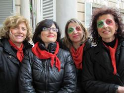 12 MARZO 2011 - GENOVA DEI MILLE - CON ALLOISIO E DE SCALZI Carmen Anna Cinzia P