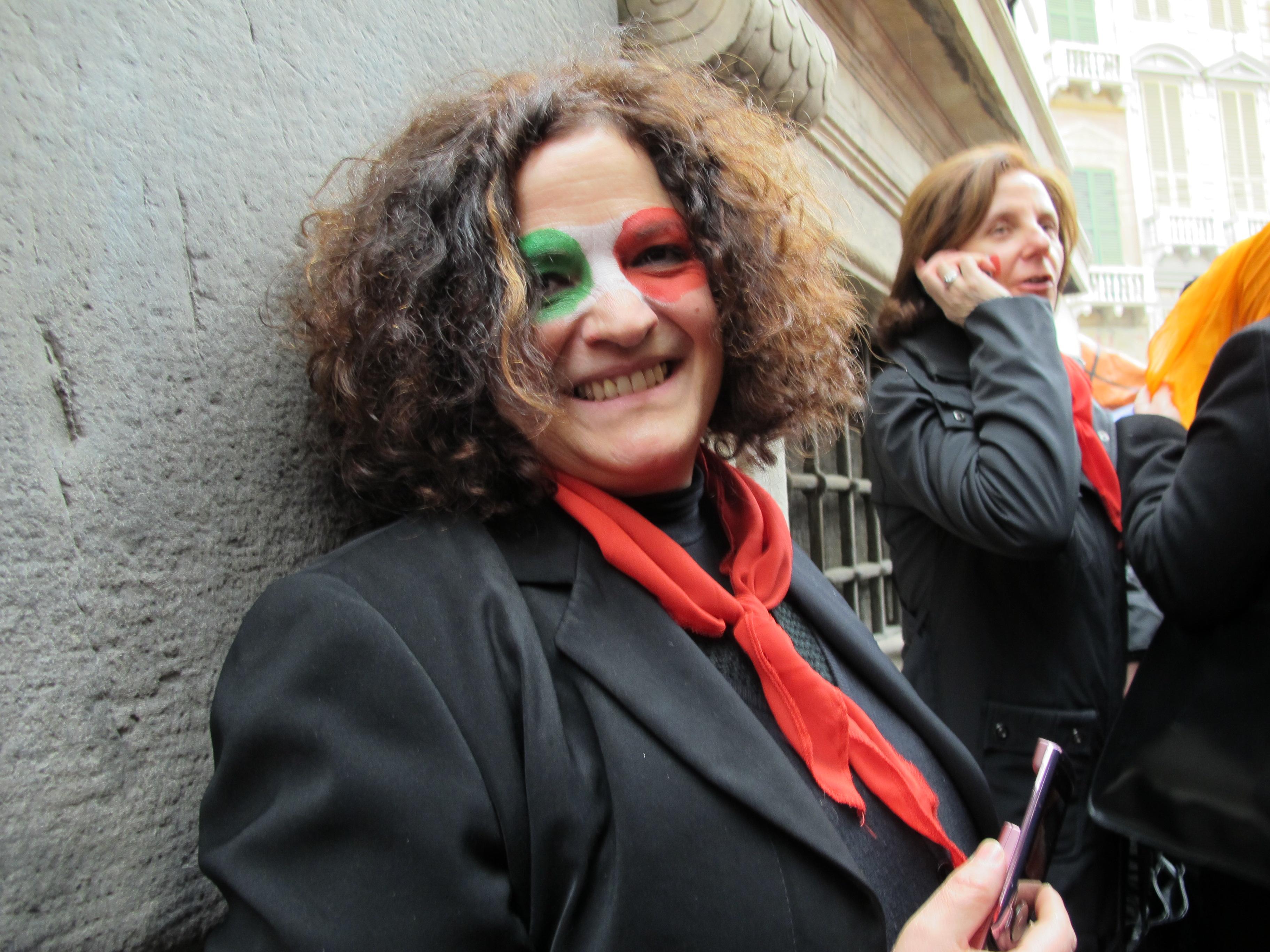12 MARZO 2011 - GENOVA DEI MILLE - CON ALLOISIO E DE SCALZI Rossana e Nora M..jp