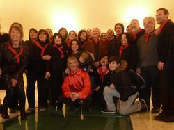 12 MARZO 2011 - GENOVA DEI MILLE - CON ALLOISIO E DE SCALZI gruppo con De Scalzi
