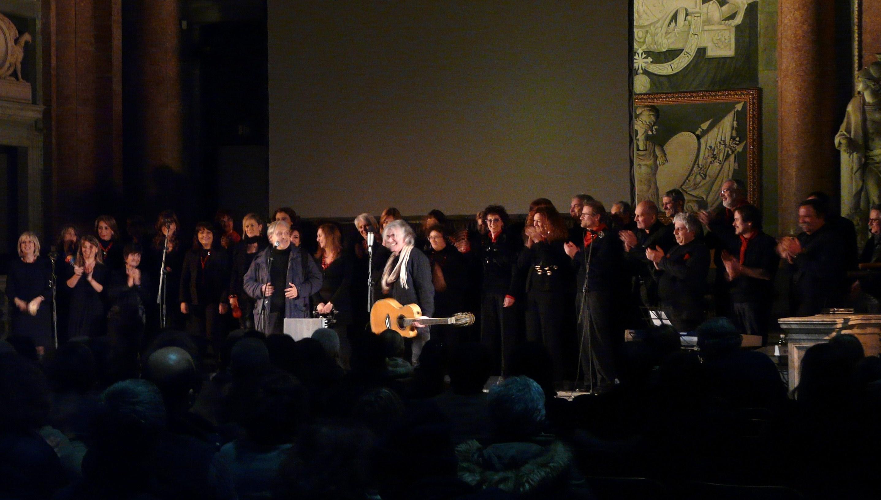 1 FEBBRAIO 2012 - PALAZZO DUCALE SALA MAGGIOR CONSIGLIO - CON GIAMPIERO ALLOISIO