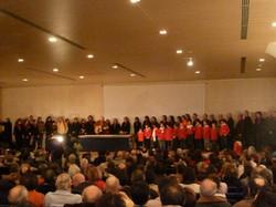 12 MARZO 2011 - GENOVA DEI MILLE - CON ALLOISIO E DE SCALZI Coro canta con De Sc