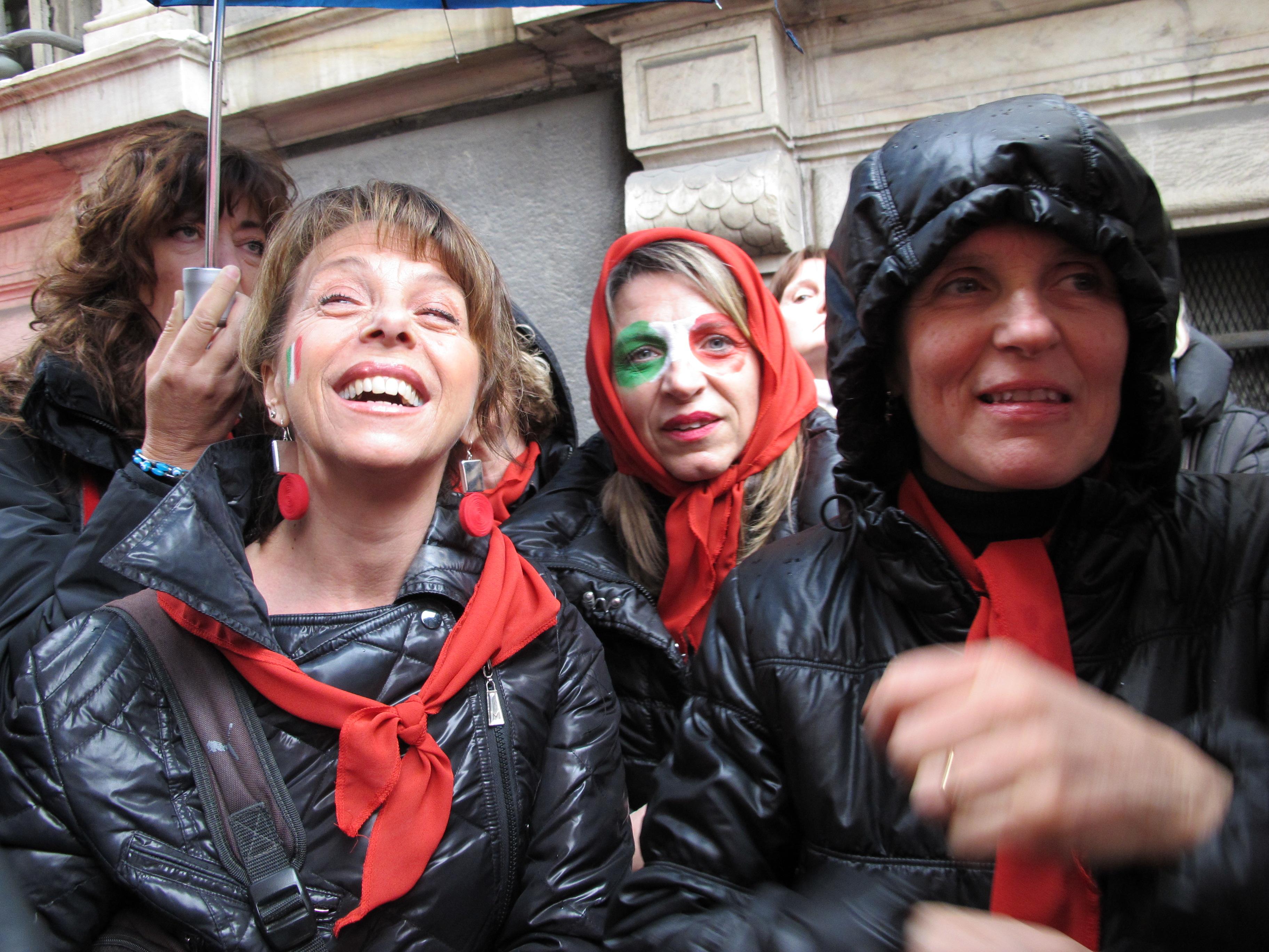 12 MARZO 2011 - GENOVA DEI MILLE - CON ALLOISIO E DE SCALZI Tiziana - Nora D. -