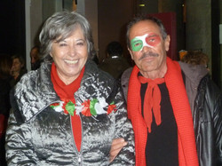 12 MARZO 2011 - GENOVA DEI MILLE - CON ALLOISIO E DE SCALZI Bruno con Marta Vinc