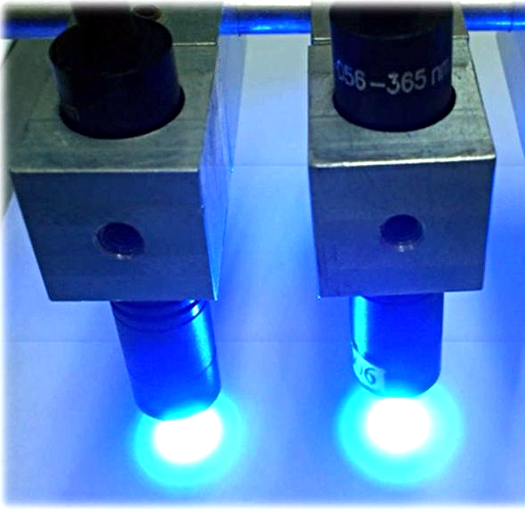 AIE LITJET UV-LED Spot, UVLED for UV adhesive curing