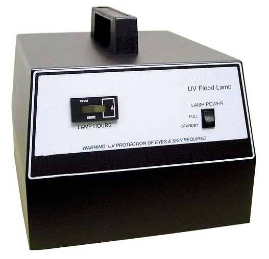 AIE_UV_Curing_Flood_Lamp_for_Adhesive_Polymers_Low_Cost_UV_Curing_Device