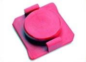 AIE_End_Cap_For_Syringe_Barrel_Orange_Red