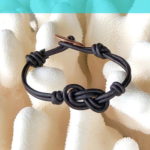 Double Infiniti Knot Bracelet