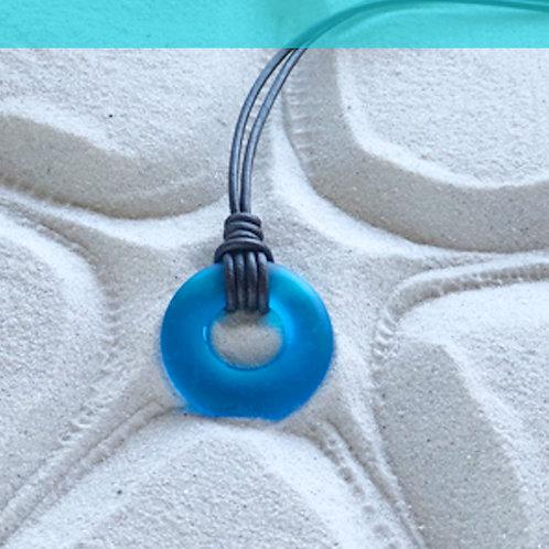 Coastal Blue Signature Beach Glass Necklace