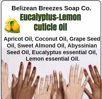 Eucalyptus-Lemon Cuticle Oil