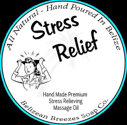 Premium Massage oil-Stress Relief-LARGE