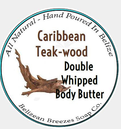 Caribbean Teak-wood Double Whipped Body Butter