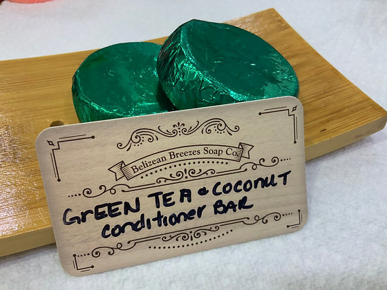 Green Tea Coconut Conditioner Bar