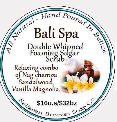 Bali Spa Foaming Whipped Sugar Scrub