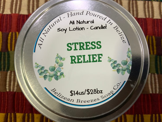 Lotion Candle! Stress Relief