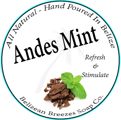 Ande's Mint BODY SOAP BAR