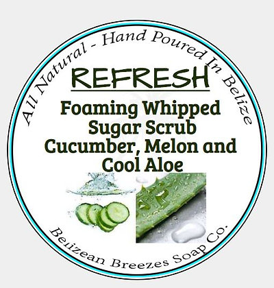 REFRESH  Foaming sugar Scrub