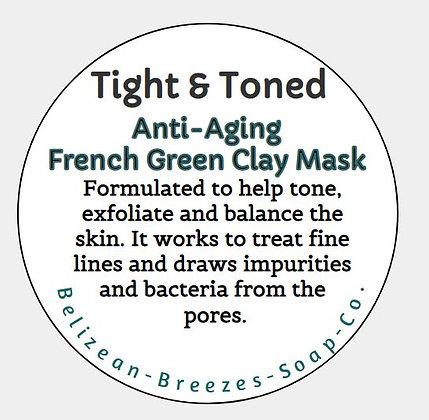Tight & Toned Facial Mask- CUST FAV!