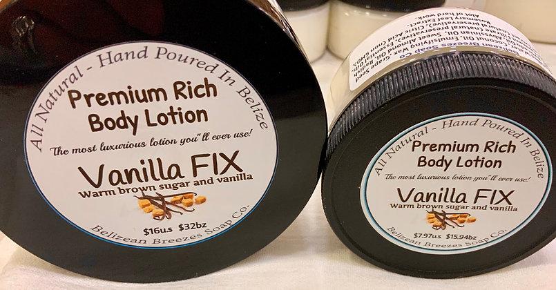 Premium Whipped Body Lotion VANILLA FIX