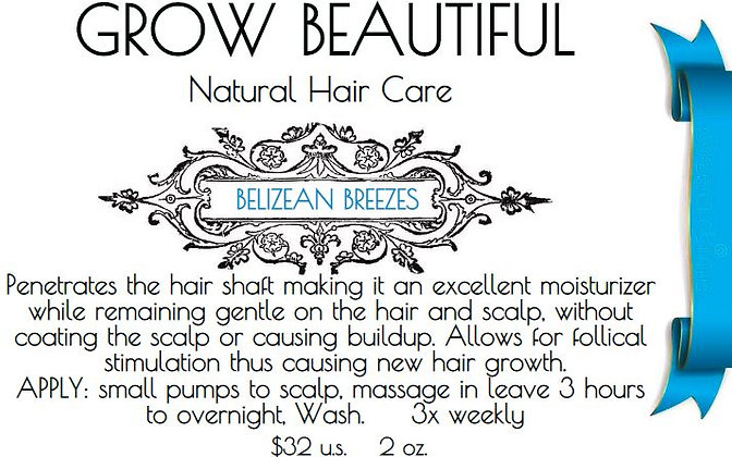 GROW BEAUTIFUL-Hair Serum