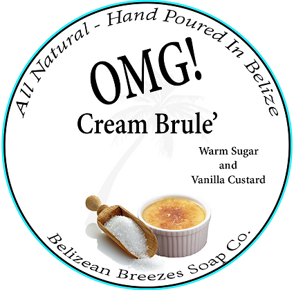 OMG Cream Brule BODY SOAP BAR